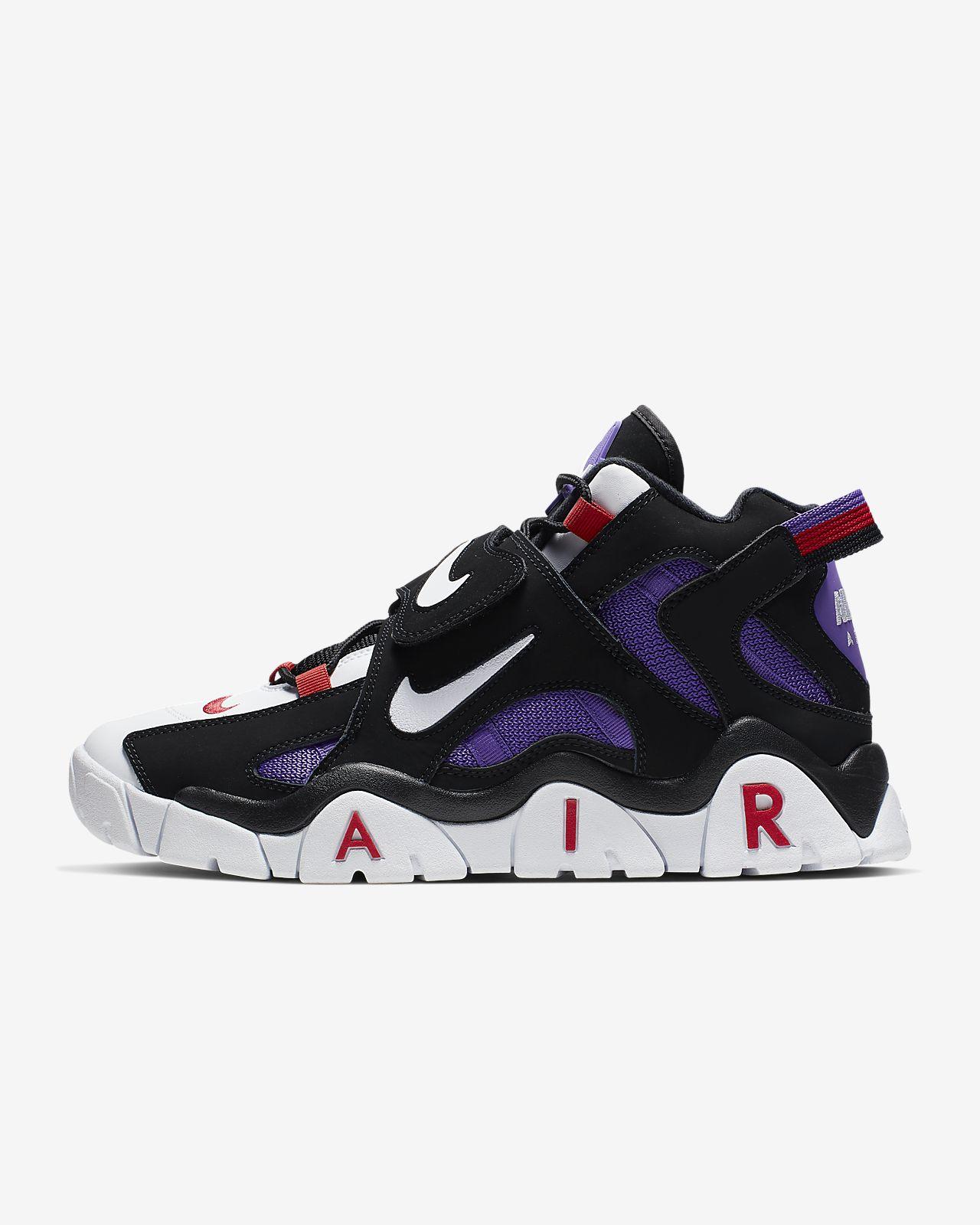 รองเท้าผู้ชาย Nike Air Barrage Mid