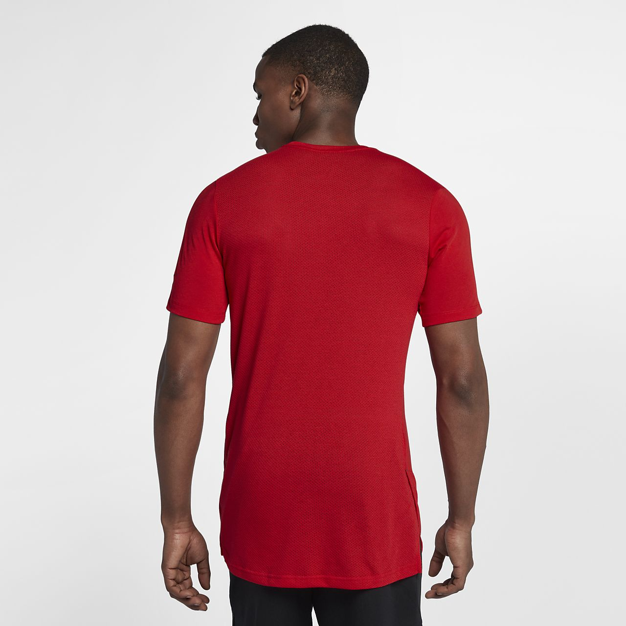 c1e1dac1 Nike Breathe Elite Men's Short-Sleeve Basketball Top. Nike.com ZA