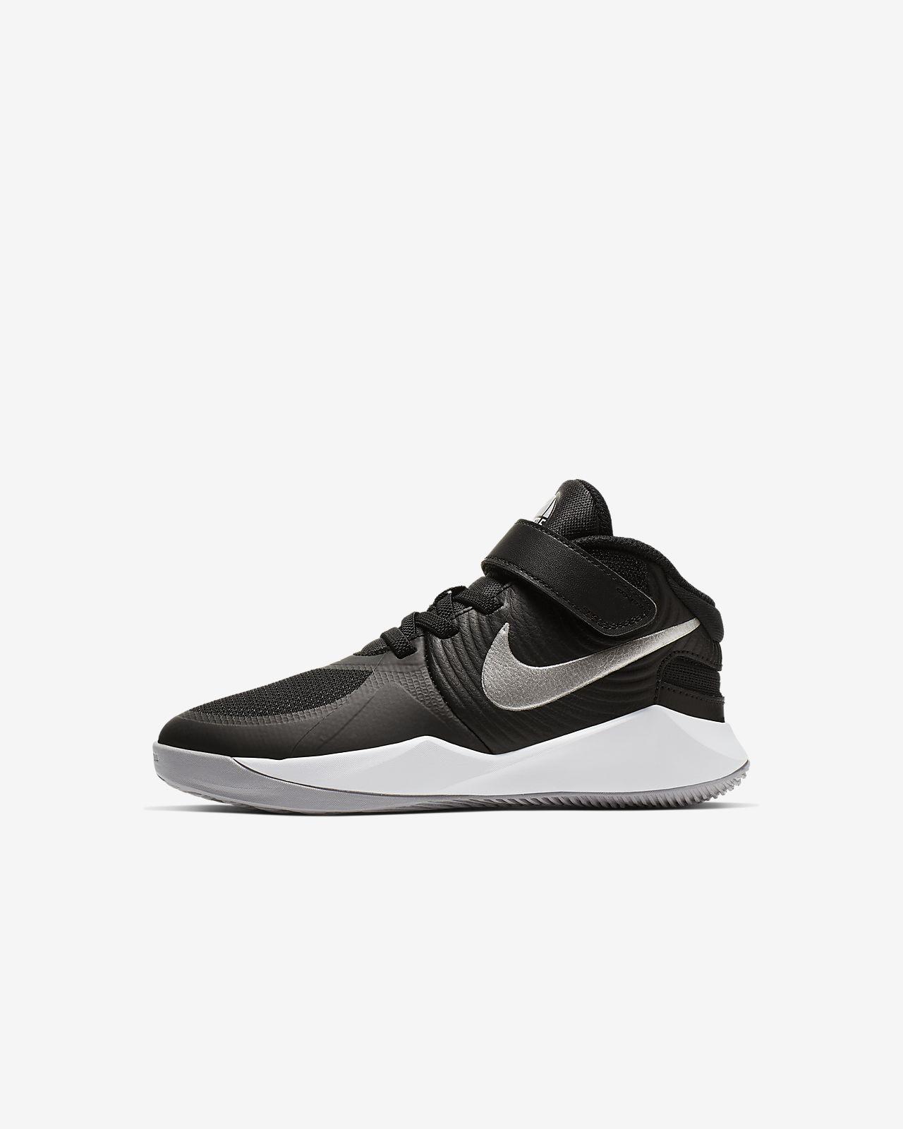 Nike Team Hustle D 9 FlyEase-sko til små børn