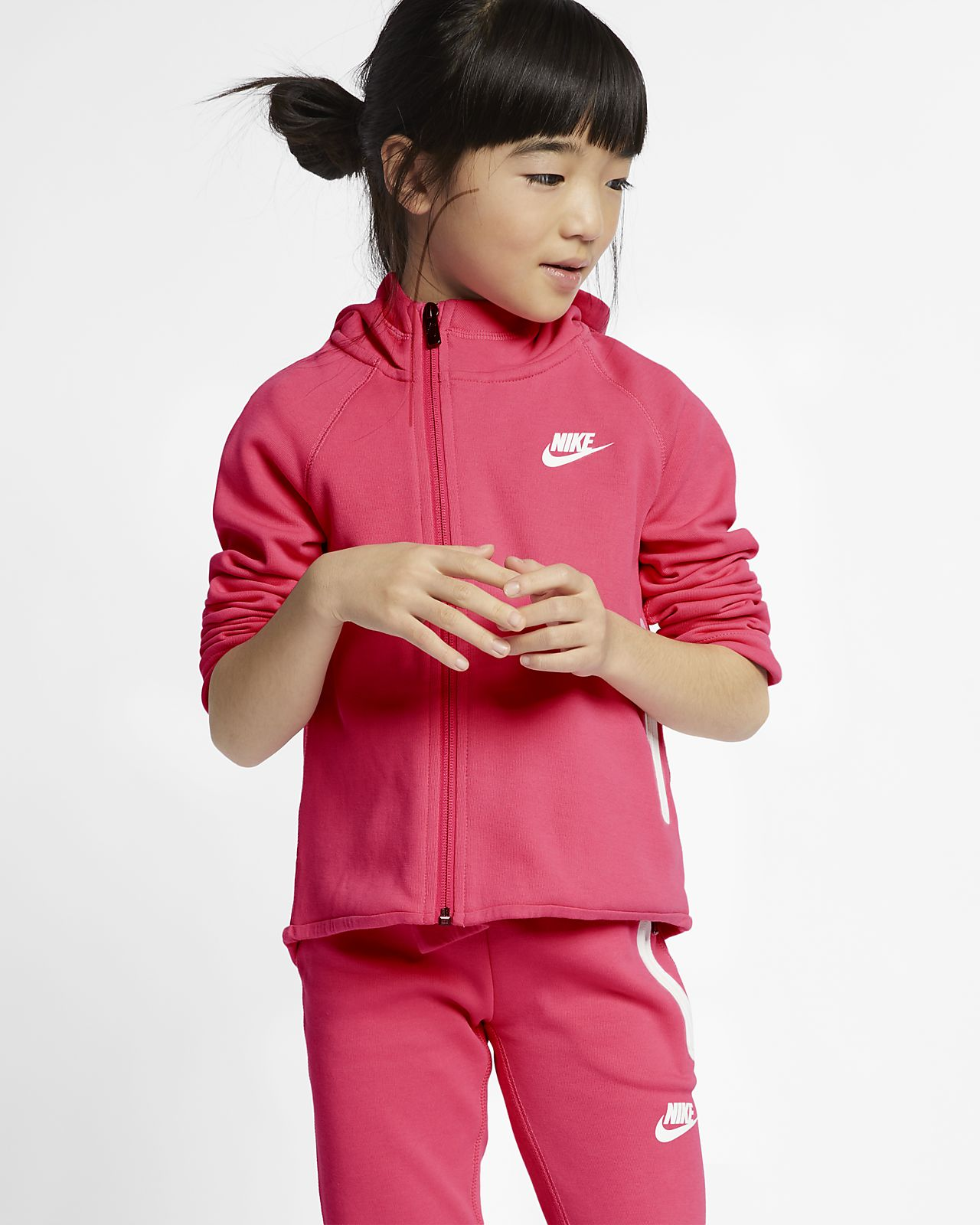 Nike Sportswear Tech Fleece Little Kids' Hoodie