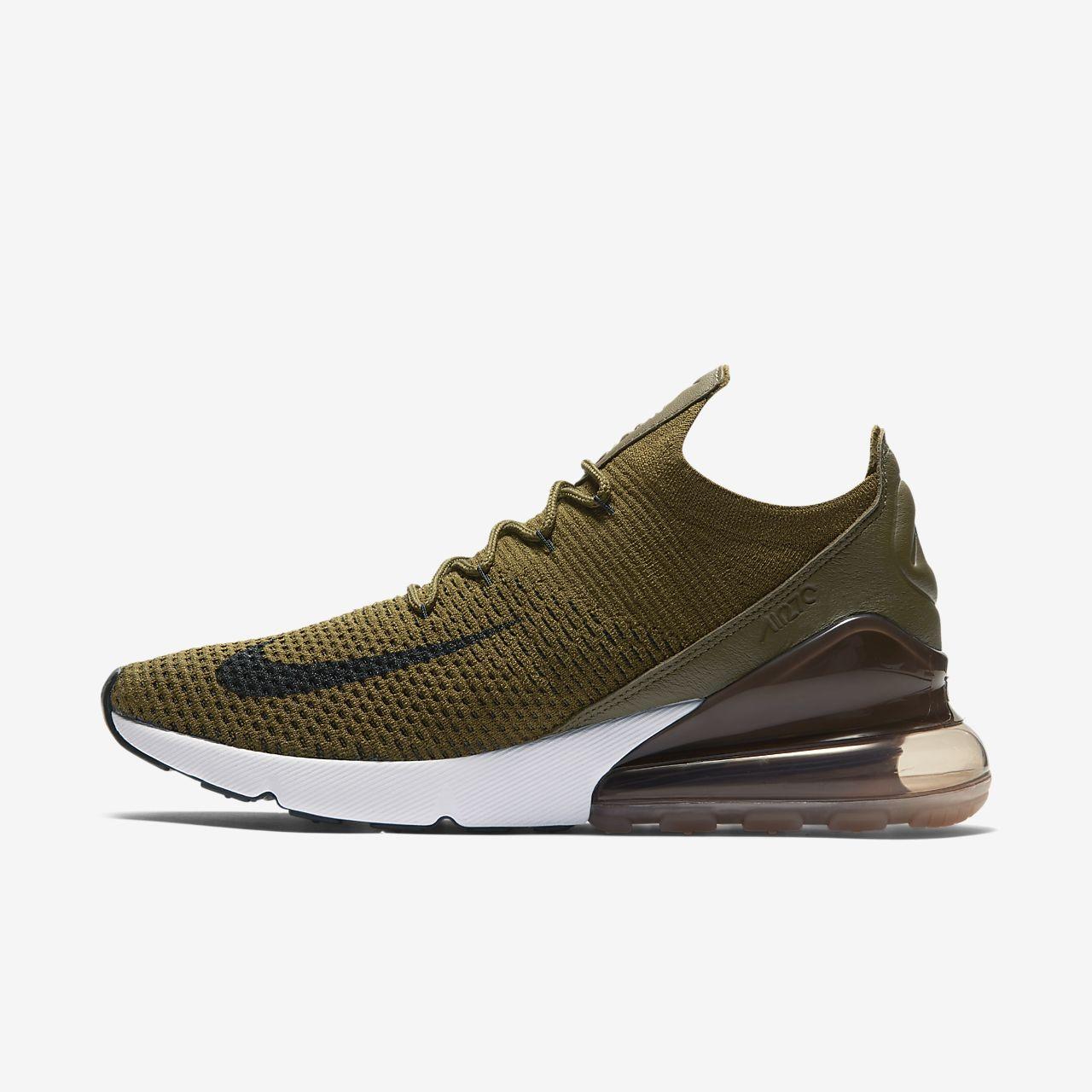 free shipping 9b837 38878 ... Nike Air Max 270 Flyknit Mens Shoe