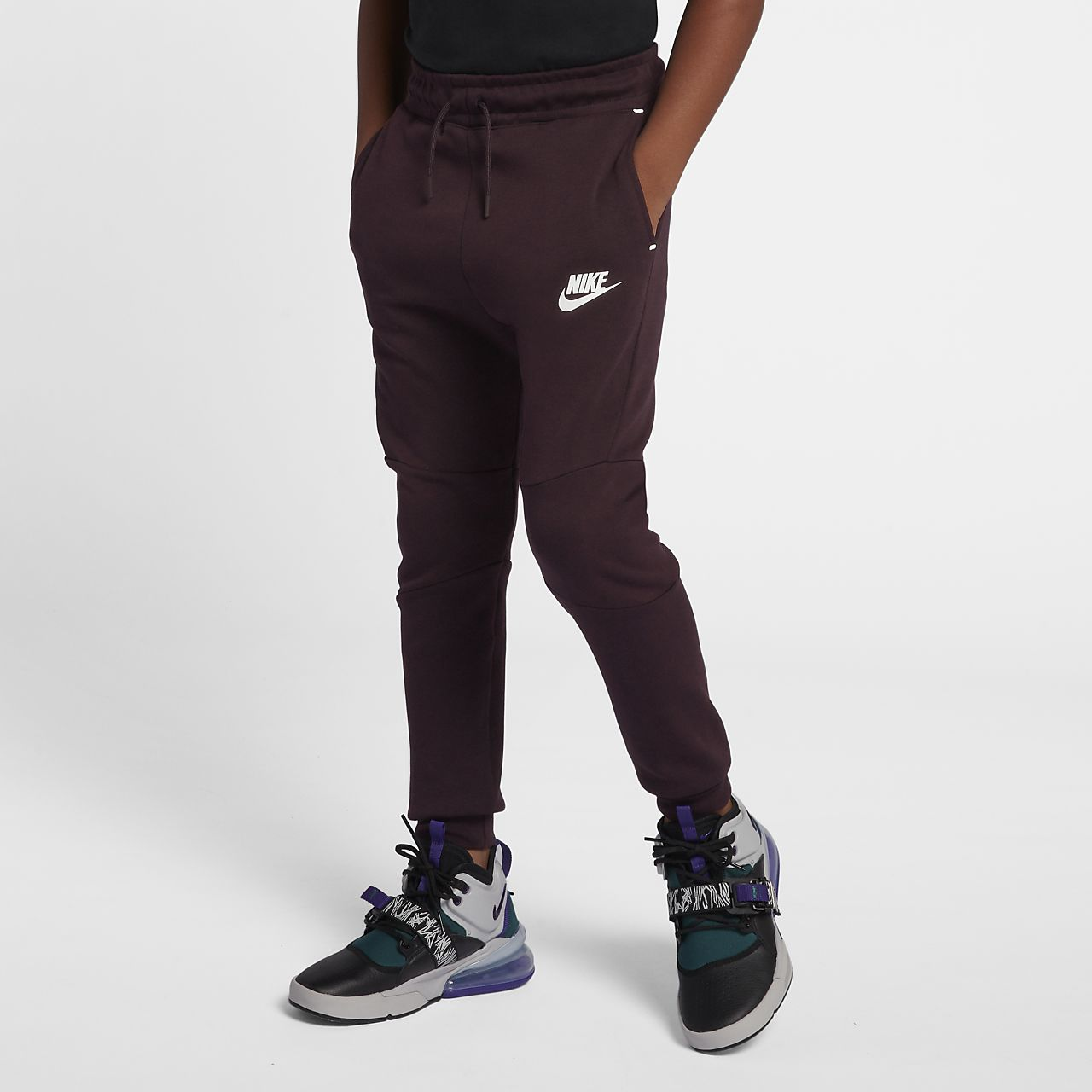 official photos 3c101 b5ad5 Pantalon Fleece Sportswear Garçon Âgé Pour Tech Nike Plus Zq