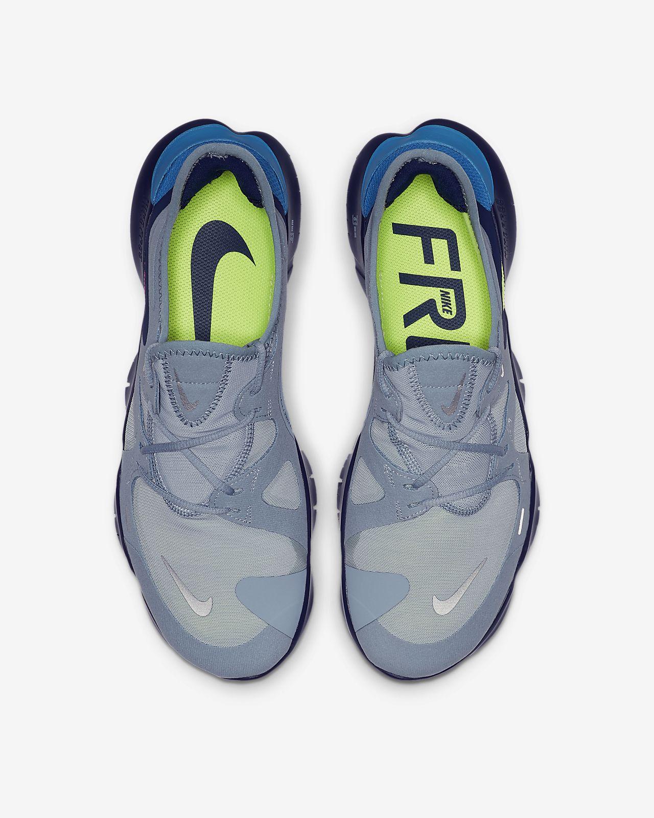 Nike Free RN 5.0 Men's Running Shoe luminous greensailpure platinumblack AQ1289 300