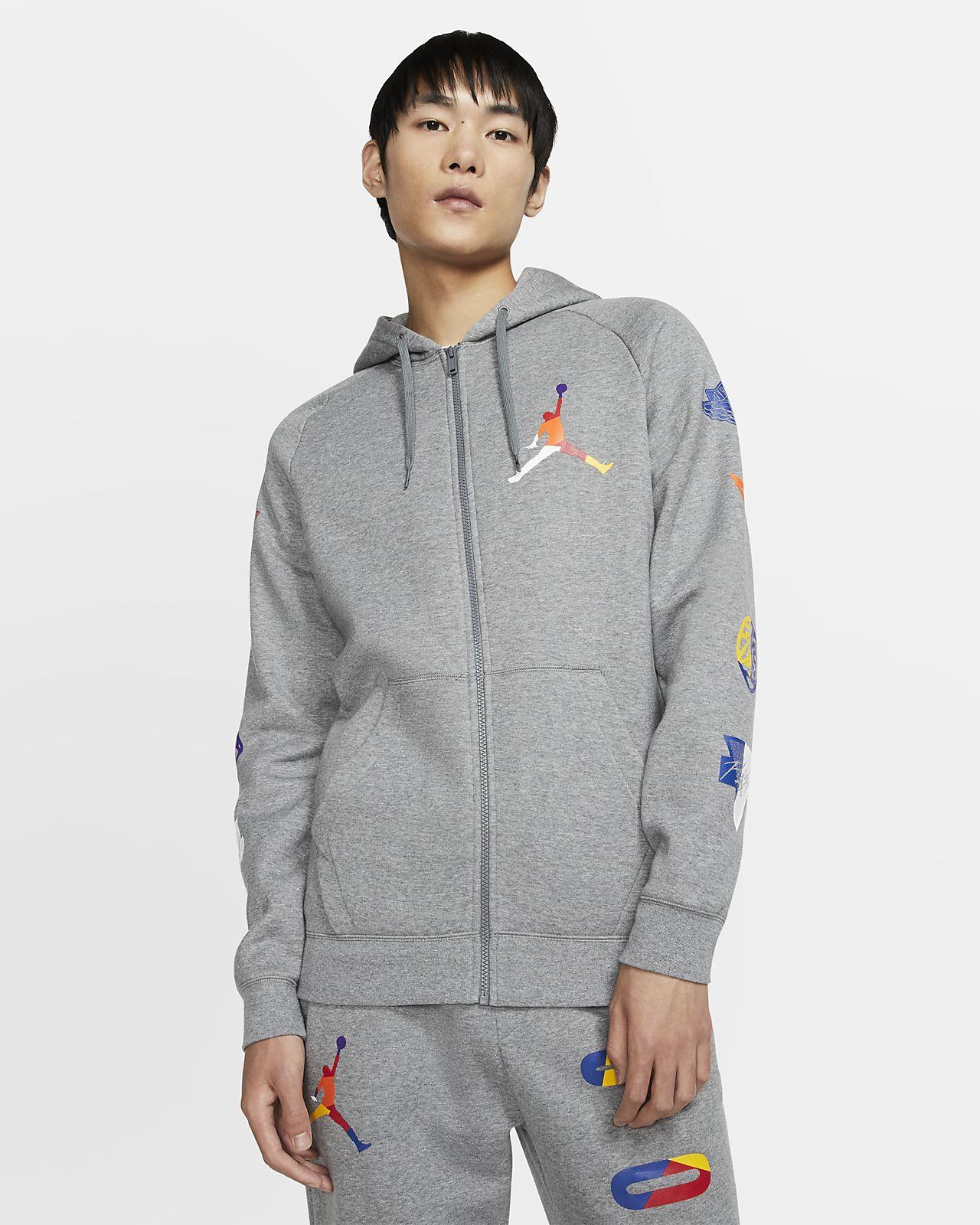 Bluza z kapturem i zamkiem na całej długości Jordan Jumpman Rivals