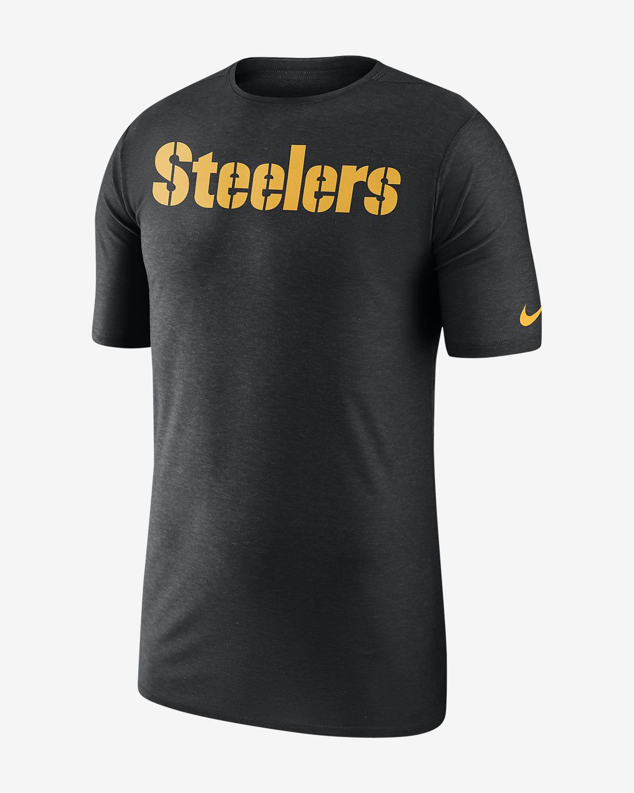 Nike Dri-FIT Player (NFL Steelers) Men's Short Sleeve Top