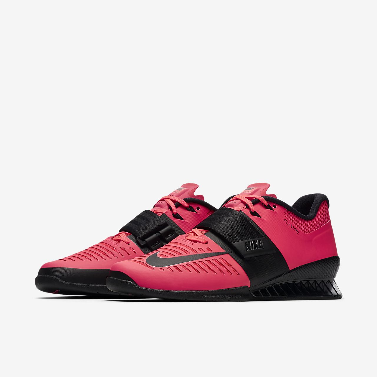 Pink Nike Romaleos  Weightlifting Shoes