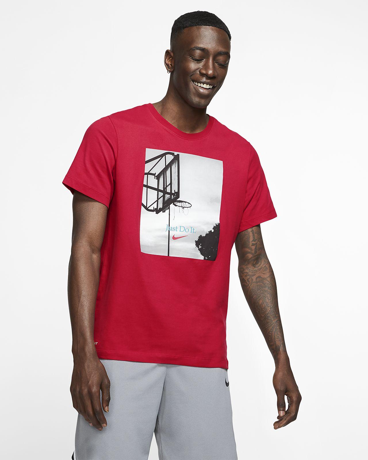 """Nike Dri-FIT """"Just Do It."""" Playera de básquetbol para hombre"""