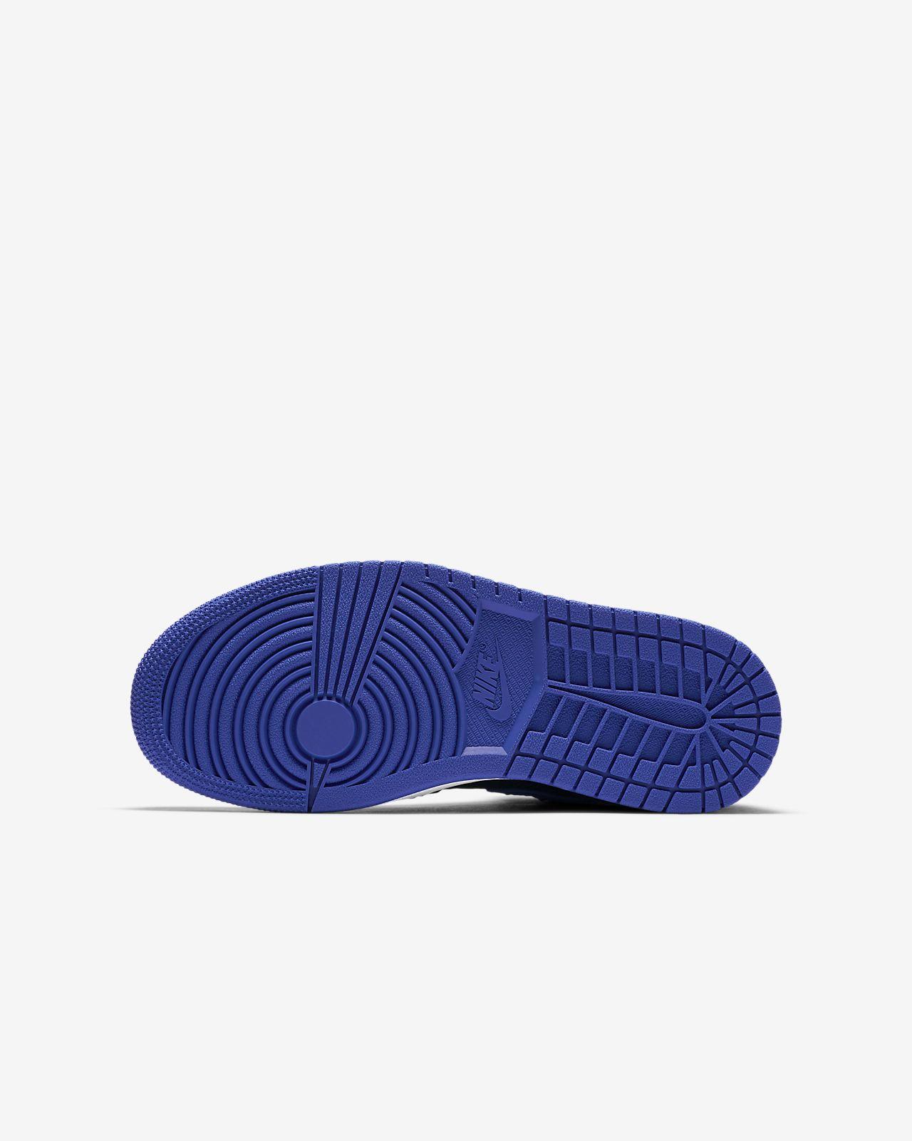 purchase cheap fe210 19edf ... Air Jordan 1 Retro High Flyknit Older Kids  Shoe
