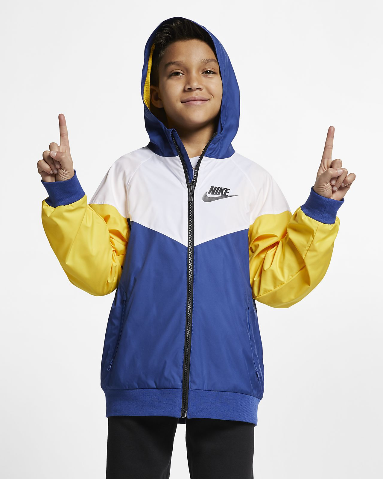 3ed70cc135a0 Nike Sportswear Windrunner Big Kids  (Boys ) Jacket. Nike.com