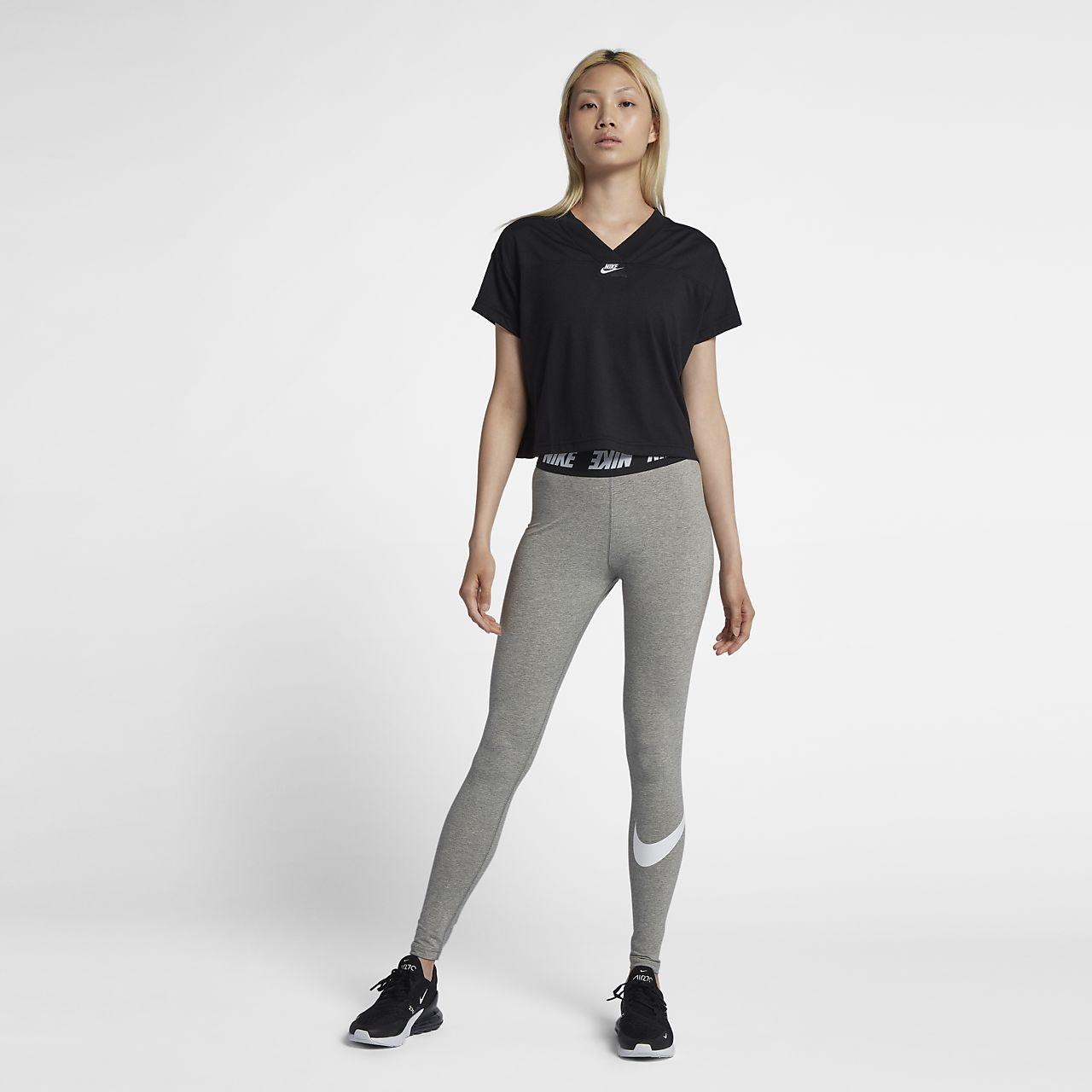 4e93259e7fc5ab Nike Sportswear Club Women's High-Rise Leggings. Nike.com GB