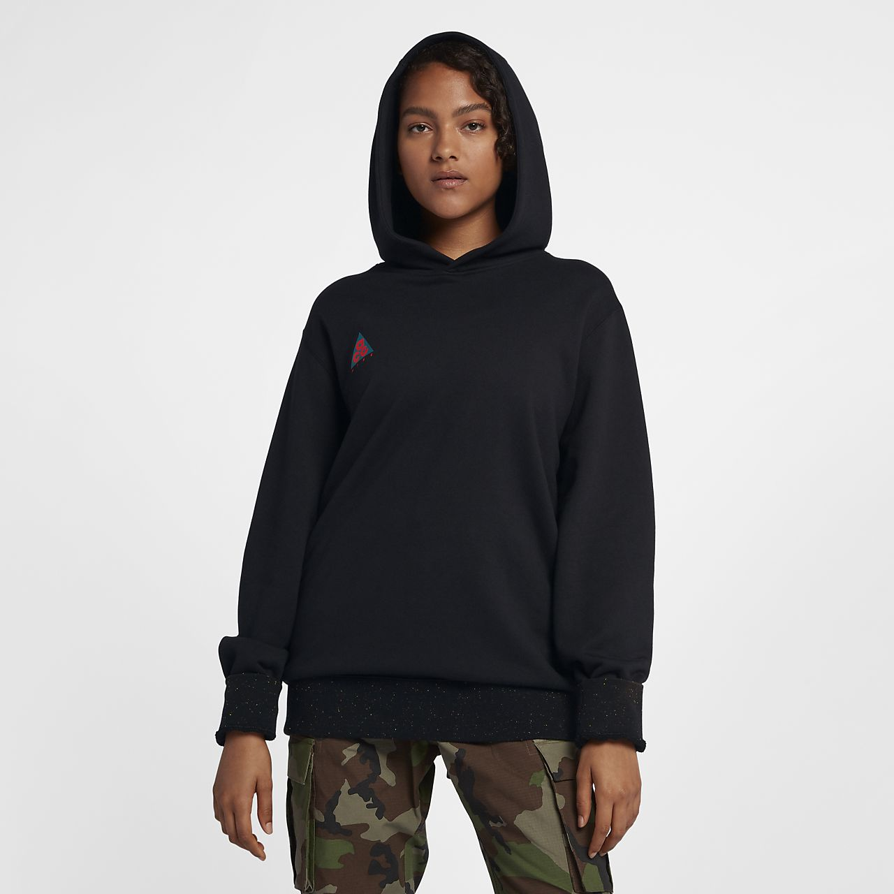เสื้อมีฮู้ดผู้ชายแบบสวม Nike ACG