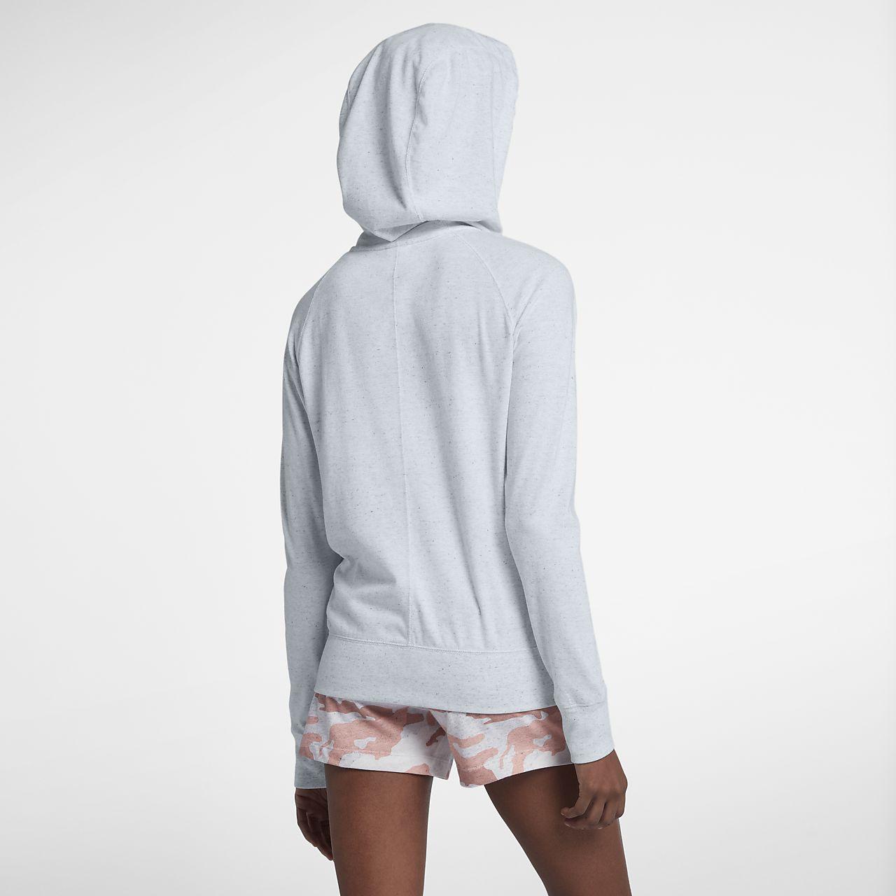 ... Nike Sportswear Gym Vintage Women's Full-Zip Hoodie