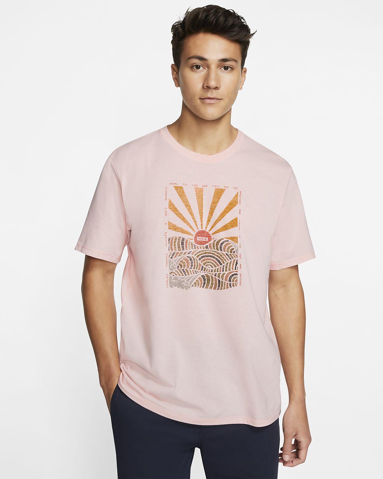 T-shirt Hurley Dri-FIT Interval med premiumpassform för män