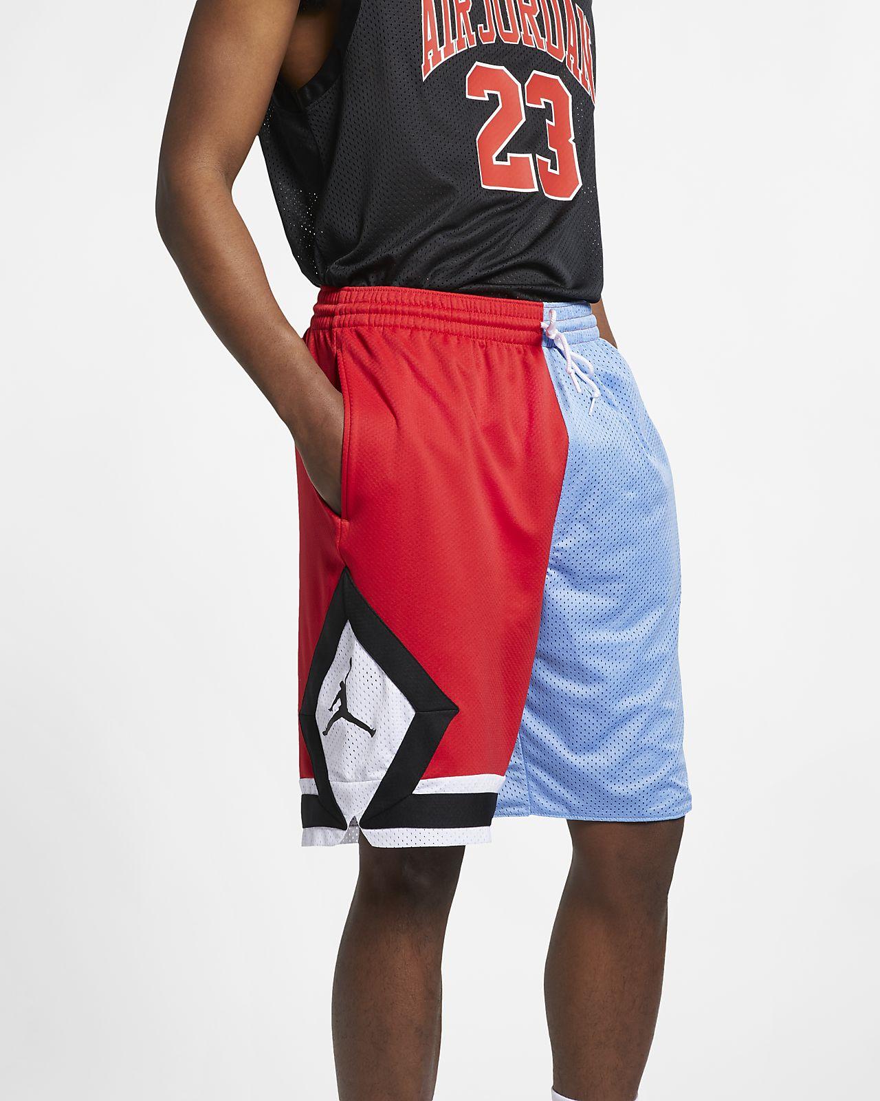 กางเกงบาสเก็ตบอลขาสั้นผู้ชาย Jordan DNA Distorted