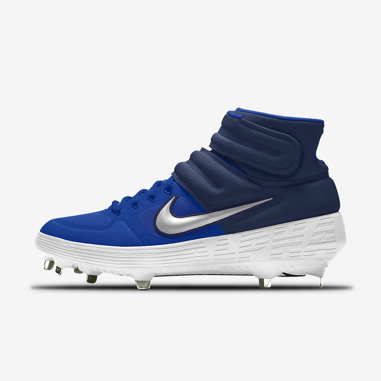 Scarpa da baseball personalizzabile Nike Alpha Huarache Elite 2 Mid By You
