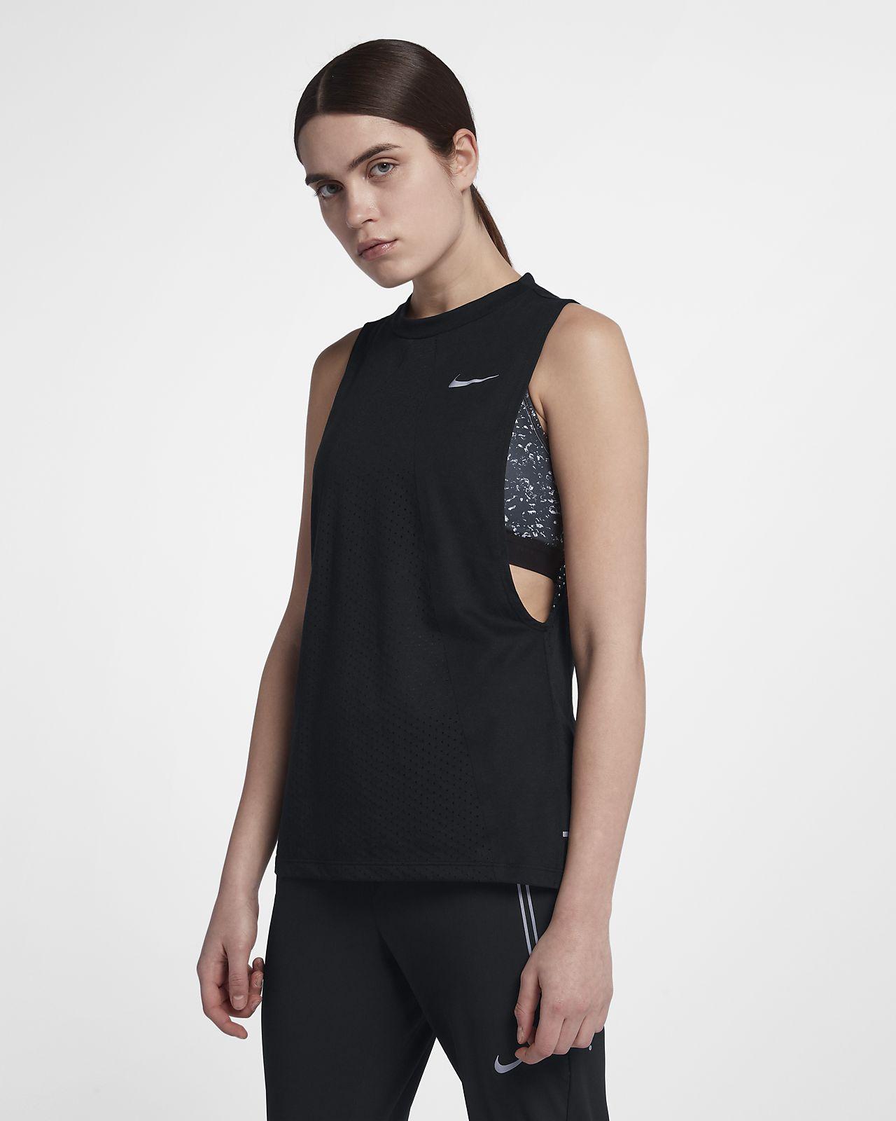 nike donna running canotta  Canotta da running Nike Dri-FIT Tailwind - Donna.  IT
