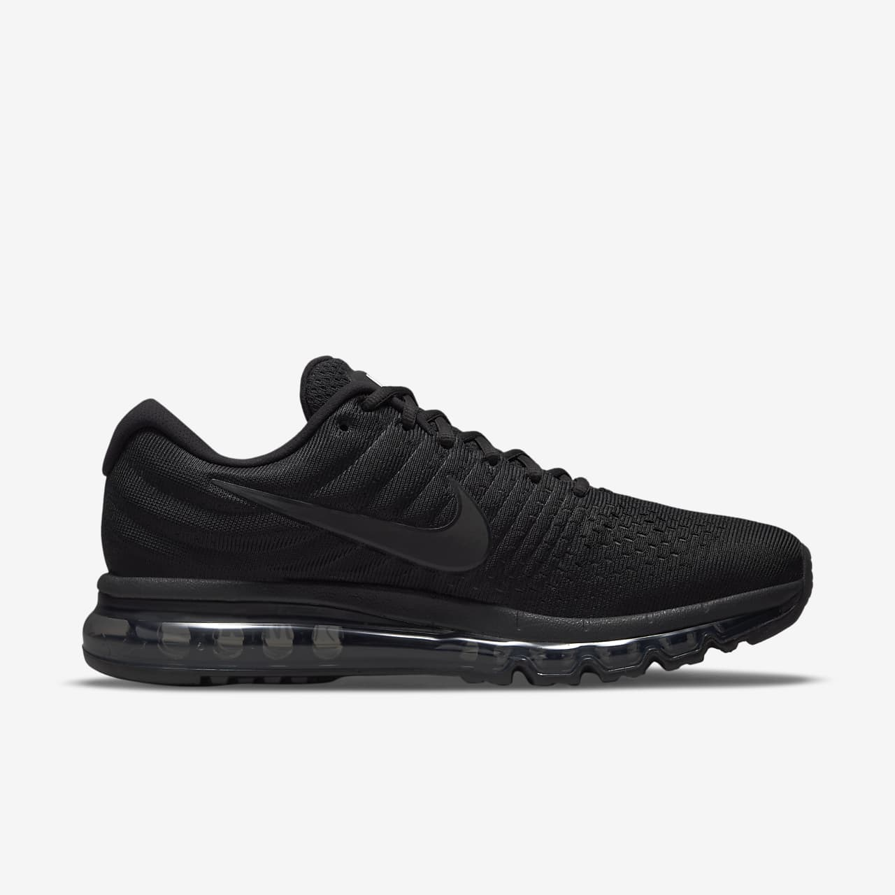 mens nike air max 2017 black and grey nz
