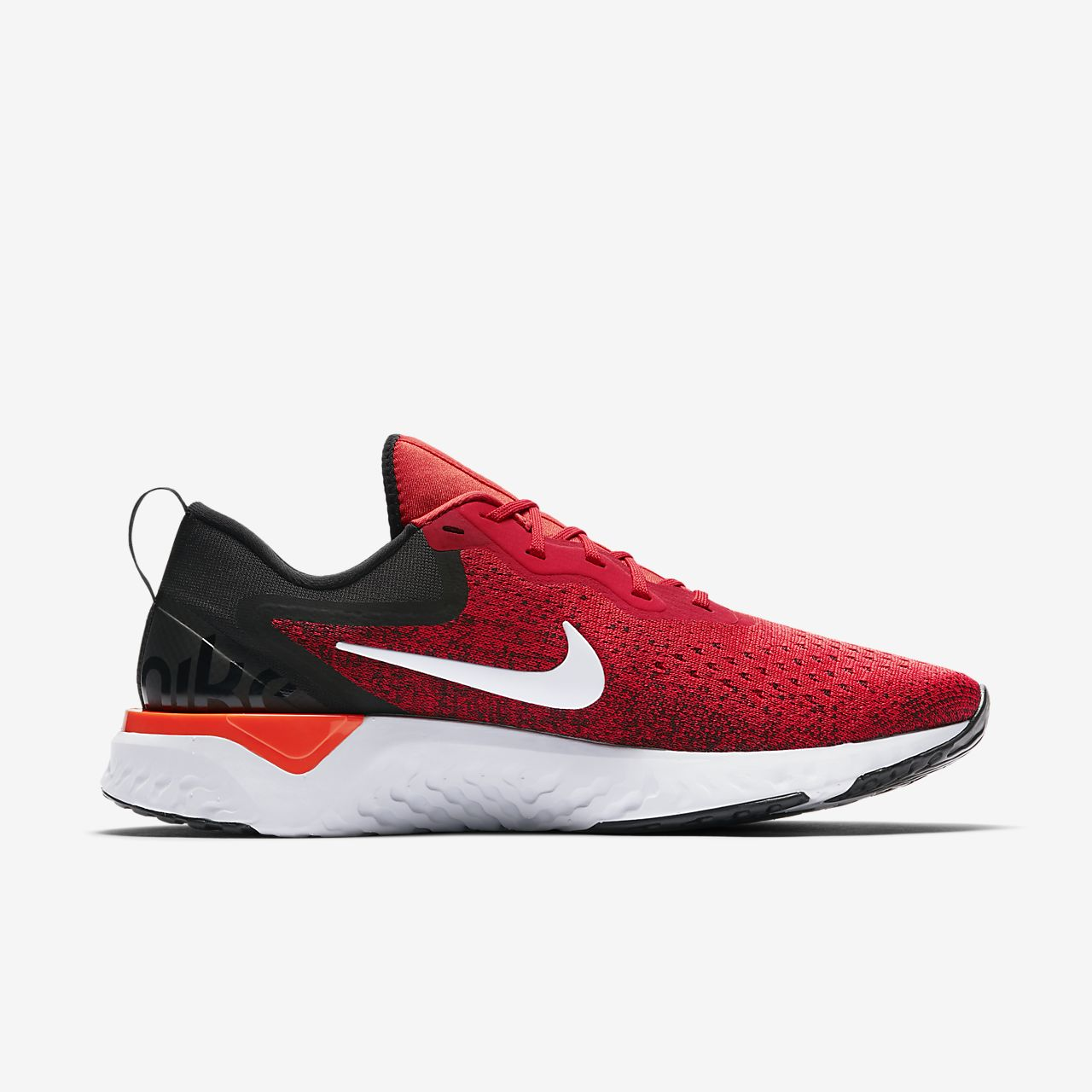 Nike Odyssey React Habanero Red/Black/Hyper Crimson Mens 2018 Running All NEW