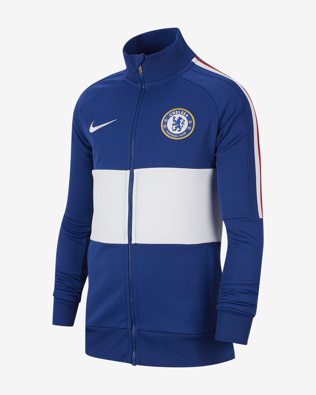 Chamarra para niños talla grande Chelsea FC
