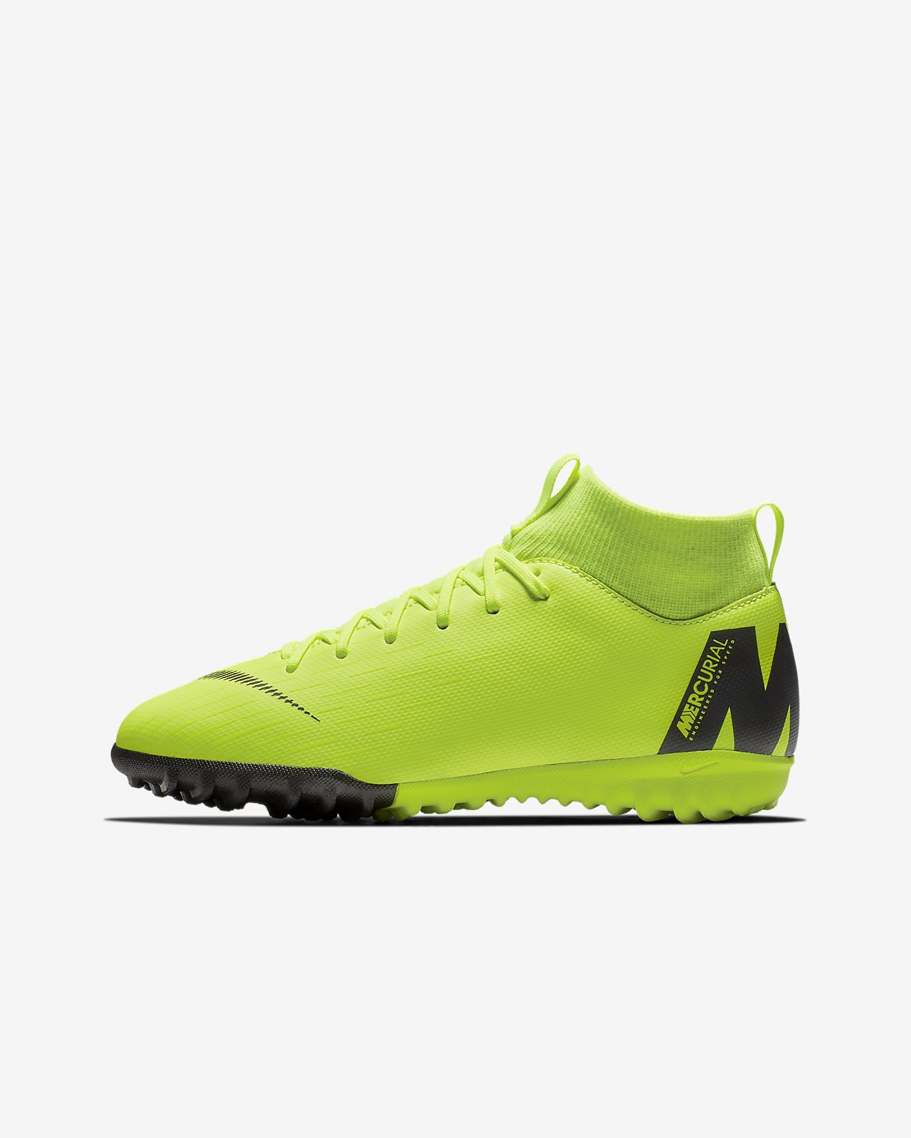 Футбольные бутсы для игры на искусственном газоне для дошкольников/школьников Nike Jr. SuperflyX 6 Academy TF