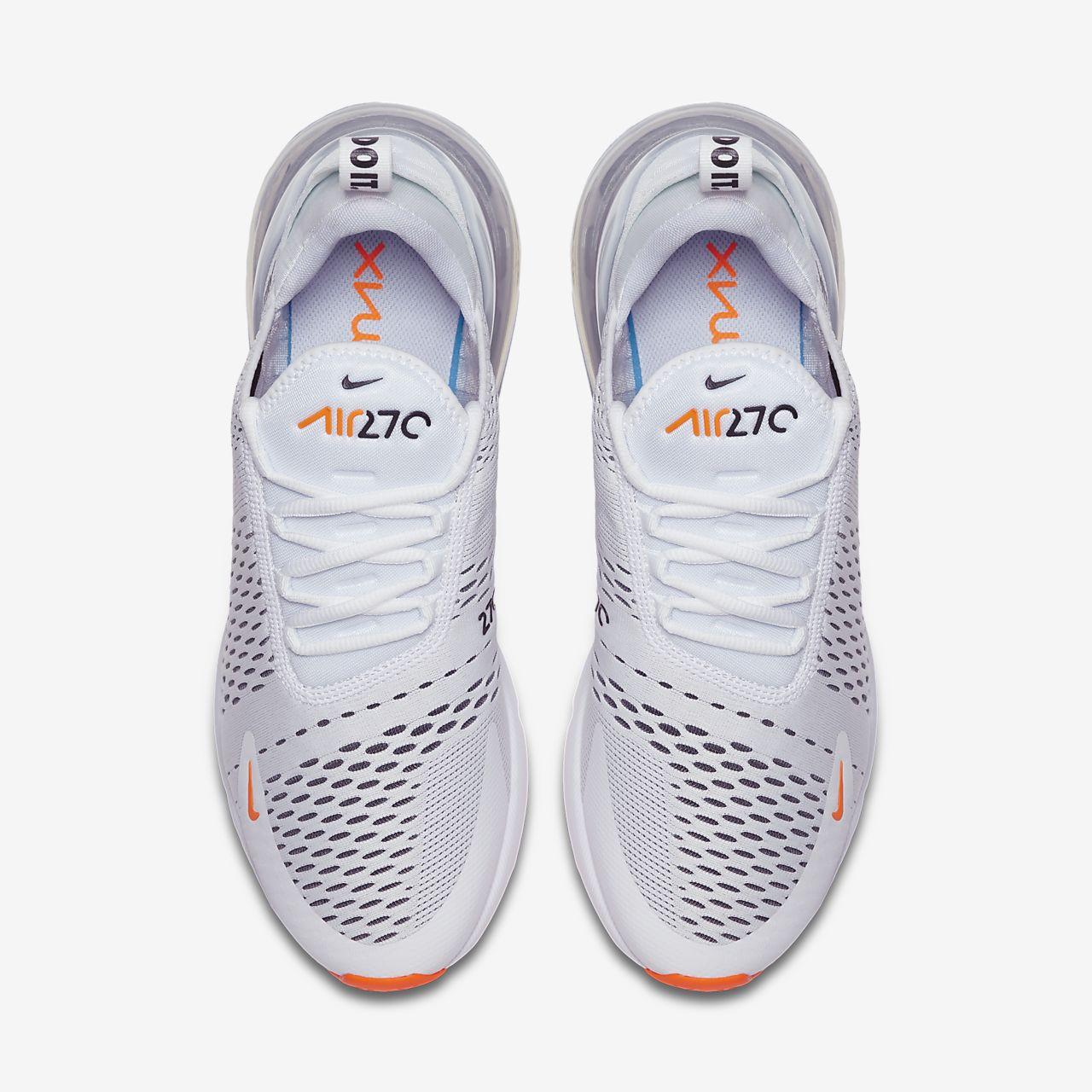 scarpa nike air max 270 biancototal orangenero ah8050 106