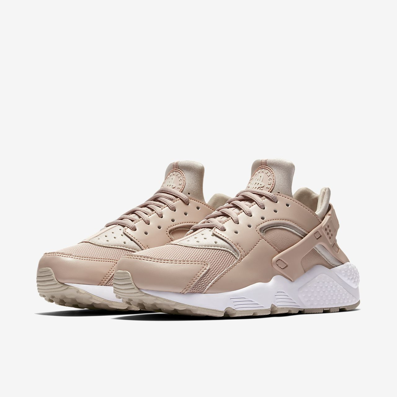 Nike Wmns Air Huarache Run Particle Beige Desert Sand Women Shoes 634835202