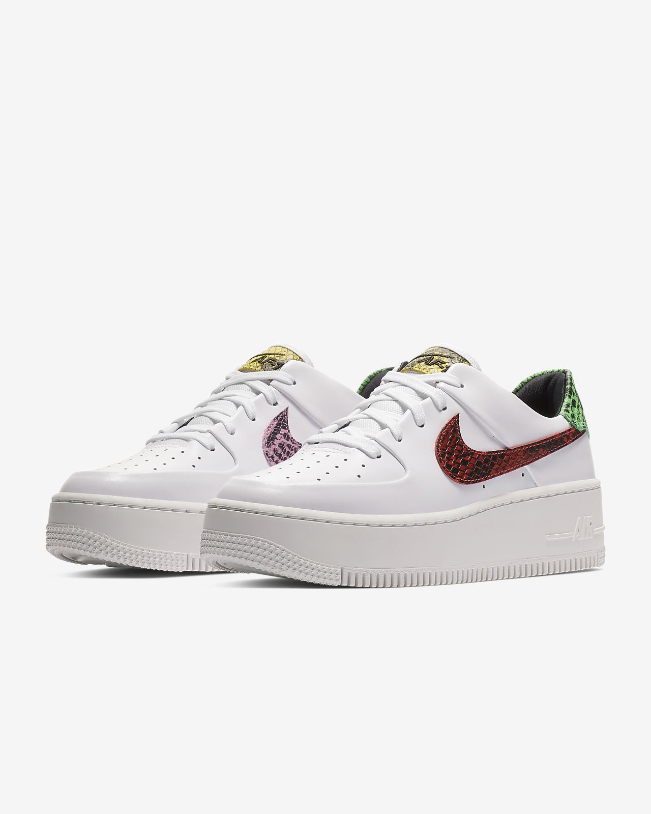753ce208004e26 Nike Air Force 1 Sage Low Premium Animal Women s Shoe. Nike.com GB