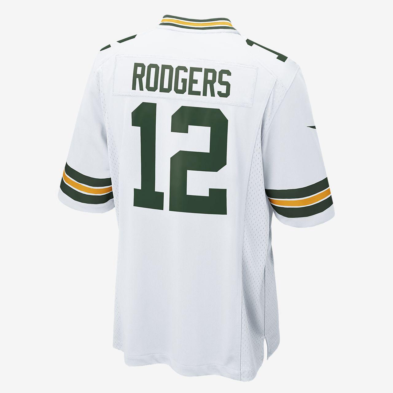 0f54e9e12 ... Camisola alternativa de jogo de futebol americano NFL Green Bay Packers  (Aaron Rodgers) para