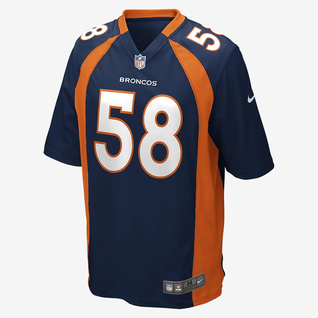 b80523f5f NFL Denver Broncos (Von Miller) Men's Football Alternate Game Jersey ...