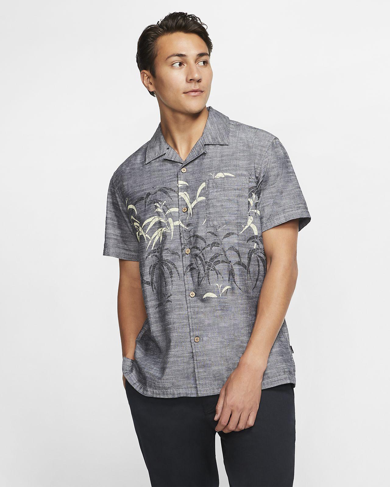 Hurley Sig Zane Kalaukoa Men's Short-Sleeve Top