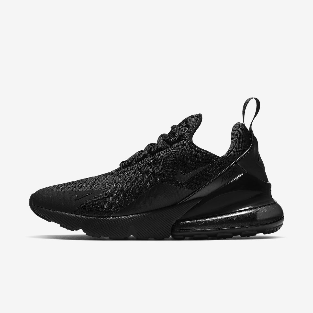 black nike air max womens size 7