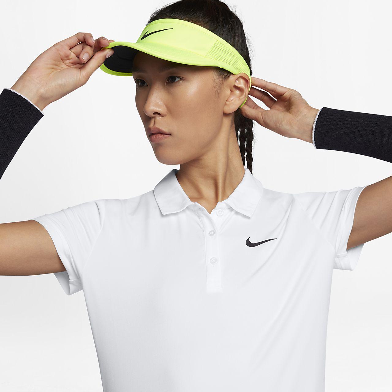 Polo da tennis NikeCourt Pure - Donna
