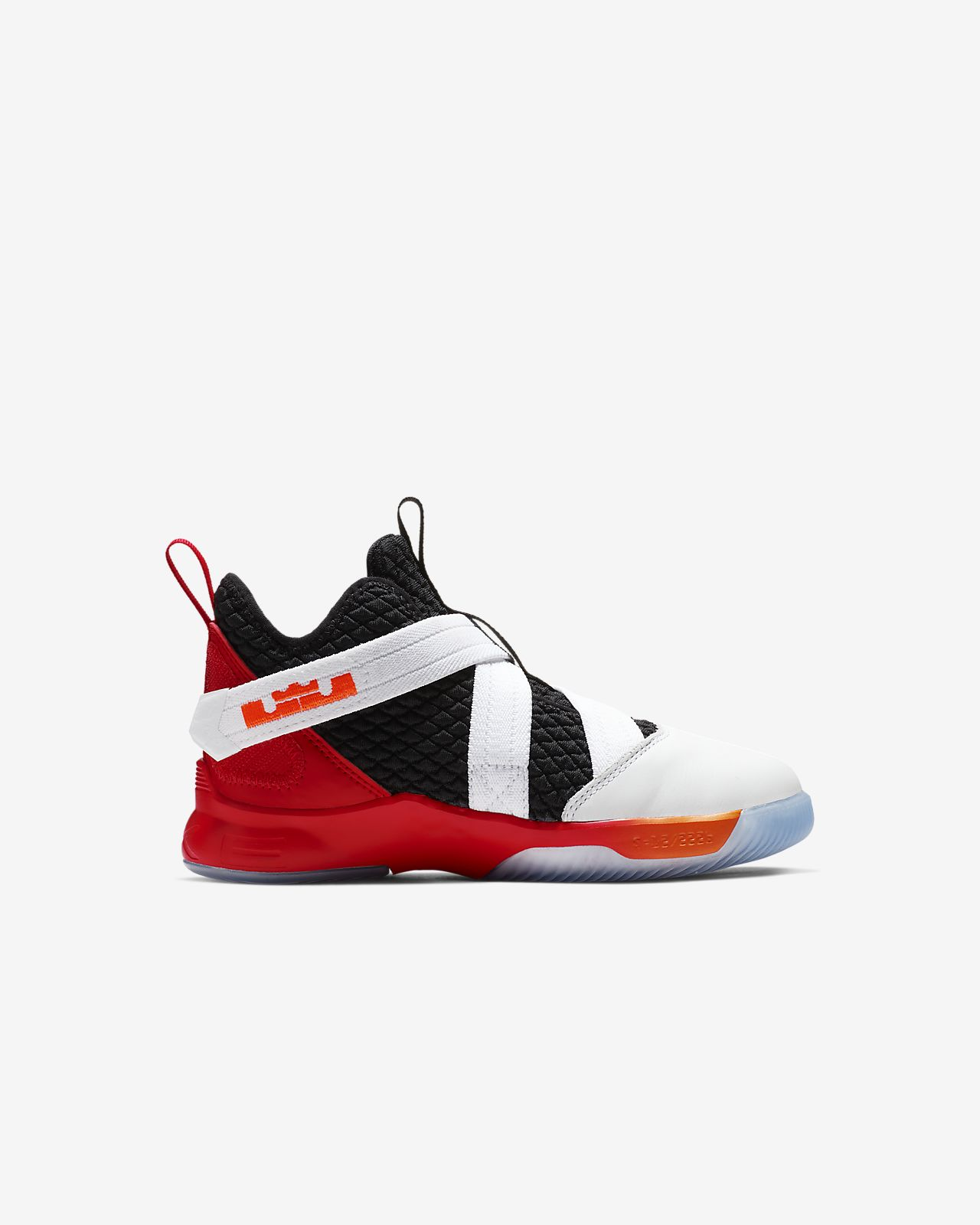 67eebb6e9b8 LeBron Soldier 12 Little Kids  Shoe. Nike.com