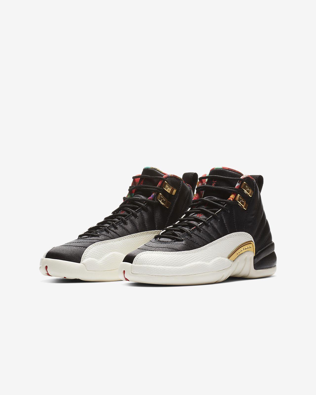 Air Jordan 12 Retro CNY Big Kids  Shoe. Nike.com c99a40f51ac06