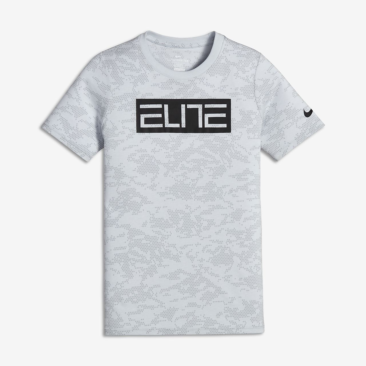 Nike Dri Fit Elite Older Kids 39 Boys 39 Basketball T Shirt
