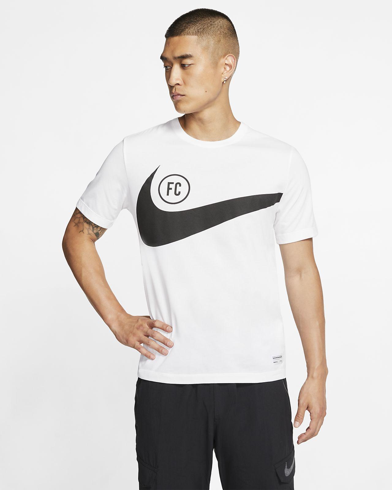 Męski T-shirt piłkarski Nike F.C. Dri-FIT