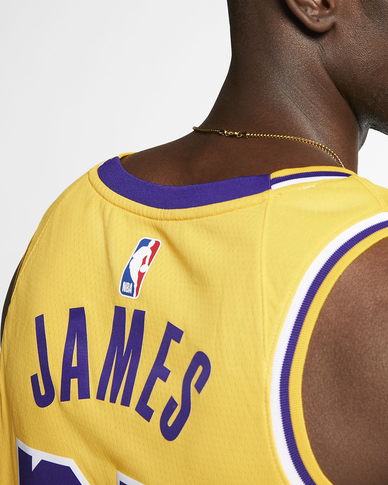 4e3e90cd2 ... LeBron James Icon Edition Swingman (Los Angeles Lakers) Men s Nike NBA  Connected Jersey