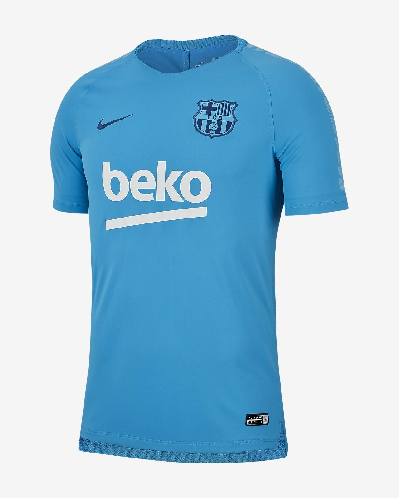 a1e5d1c9e7ae2 Playera de fútbol para hombre FC Barcelona Breathe Squad. Nike.com MX