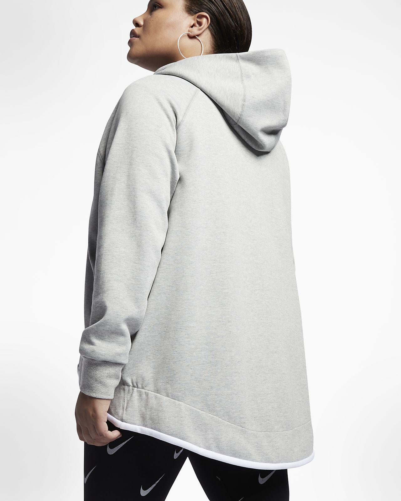 Plus Size Women'S Nike Sportswear Tech Fleece Cape Jacket