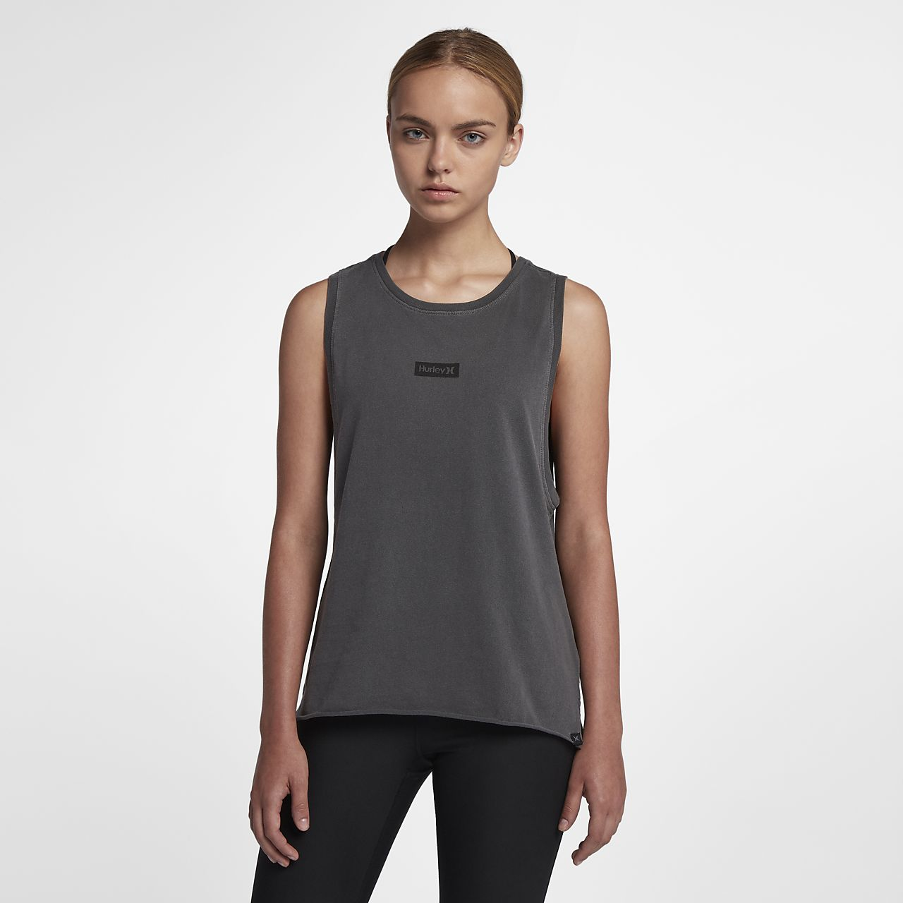 Hurley One And Only Box Washed Women's Biker Tank