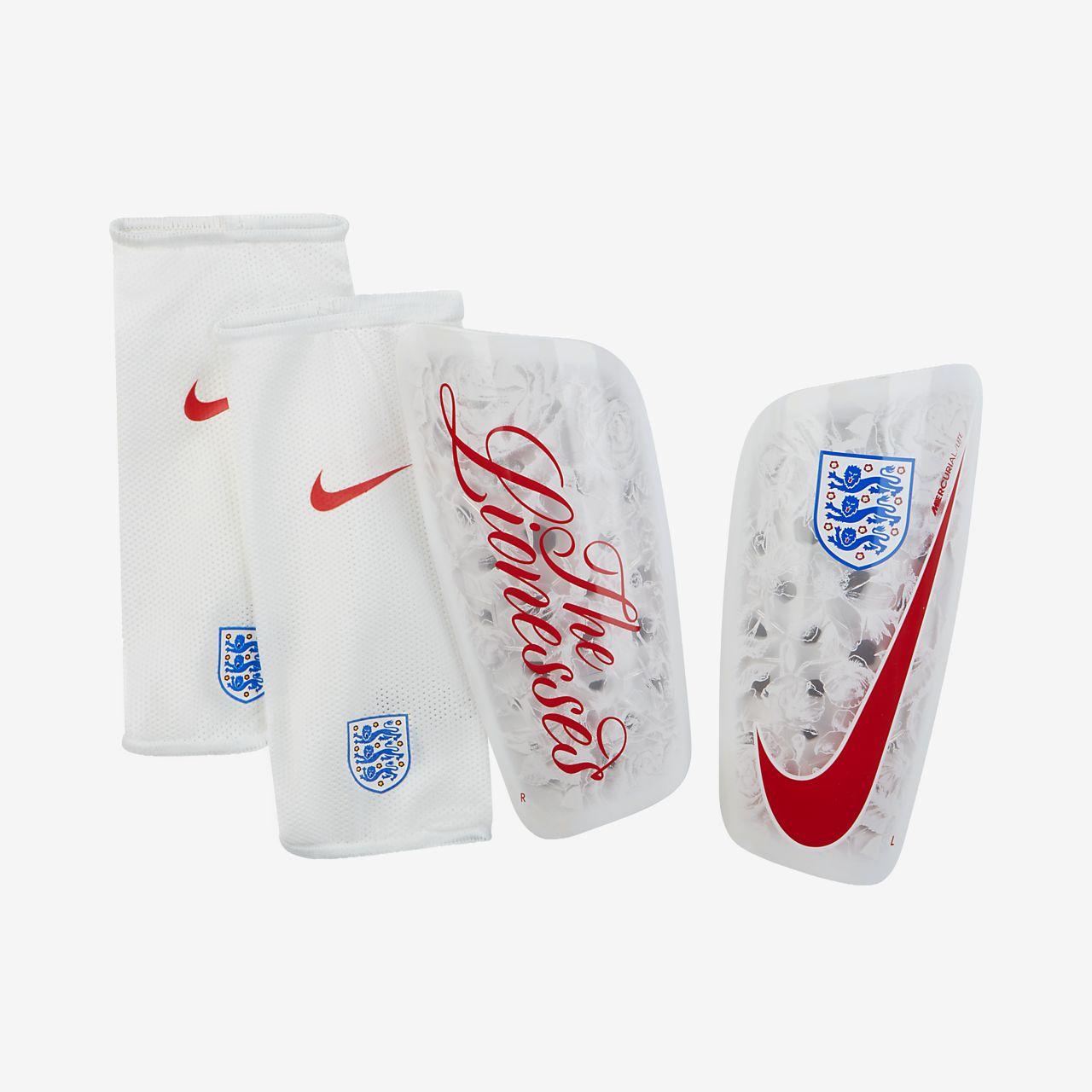 Caneleiras de futebol England Mercurial Lite