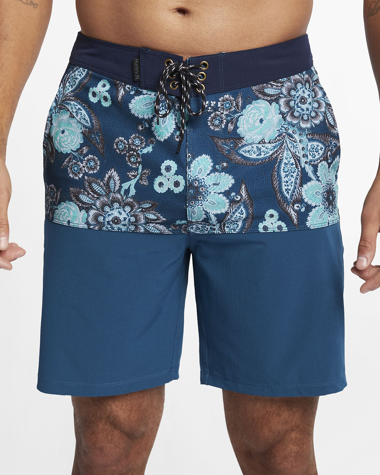 Shorts de playa de 45.5 cm para hombre Hurley Phantom Melody Beachside