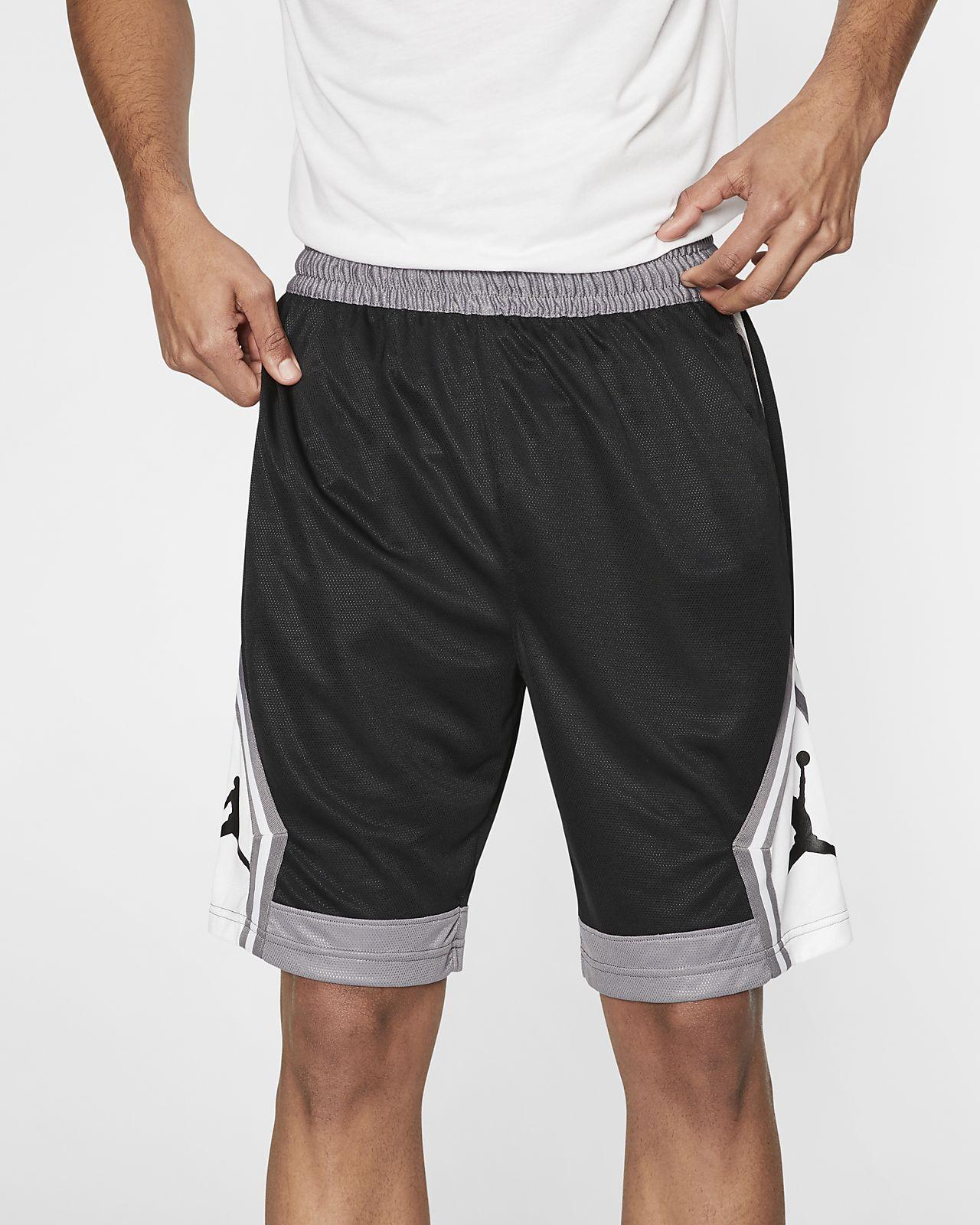 Shorts da basket a righe Jordan Jumpman Diamond - Uomo