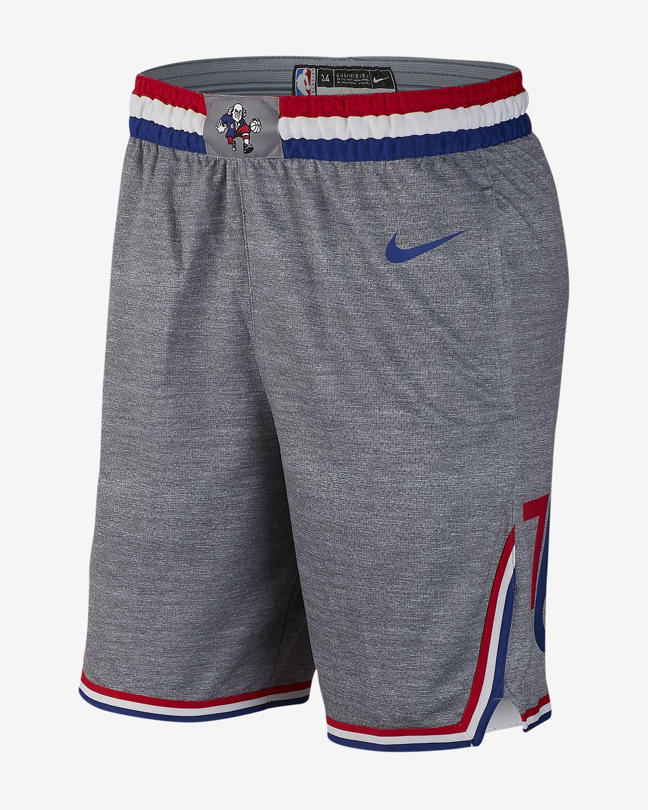 076e41836edf Philadelphia 76ers City Edition Swingman Men s Nike NBA Shorts. Nike.com