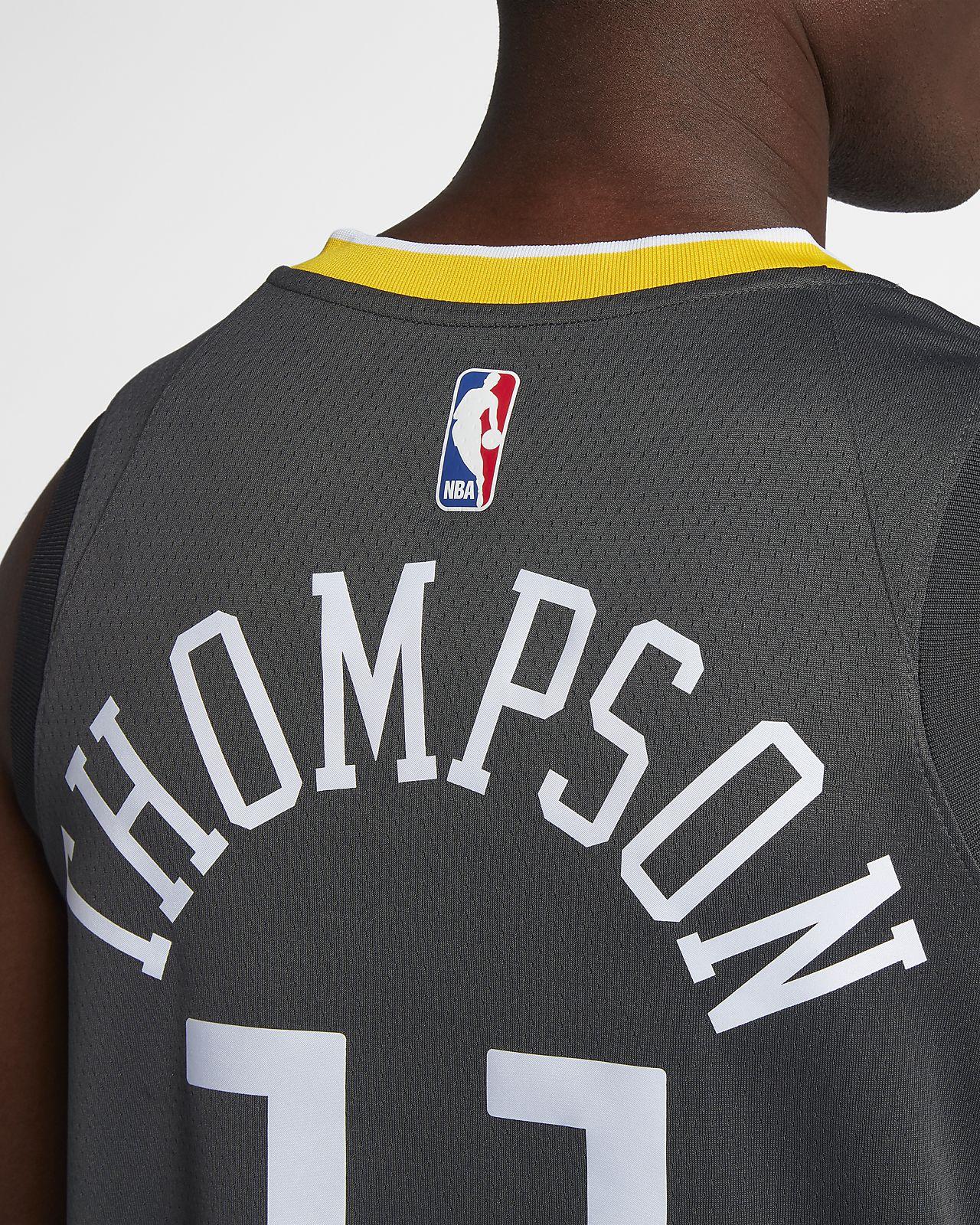 55888f664bb9 ... Klay Thompson Statement Edition Swingman (Golden State Warriors) Men s  Nike NBA Connected Jersey