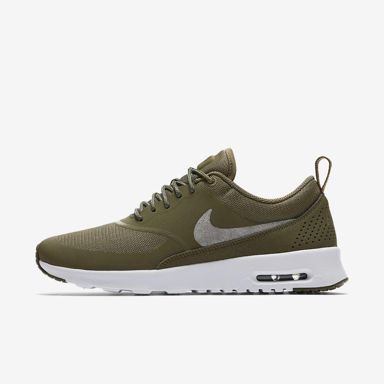 quality design 060d8 ed3a8 Nike Mujer Air Max Thea Premium Verde De Carbono Verde De Carbono Vela .