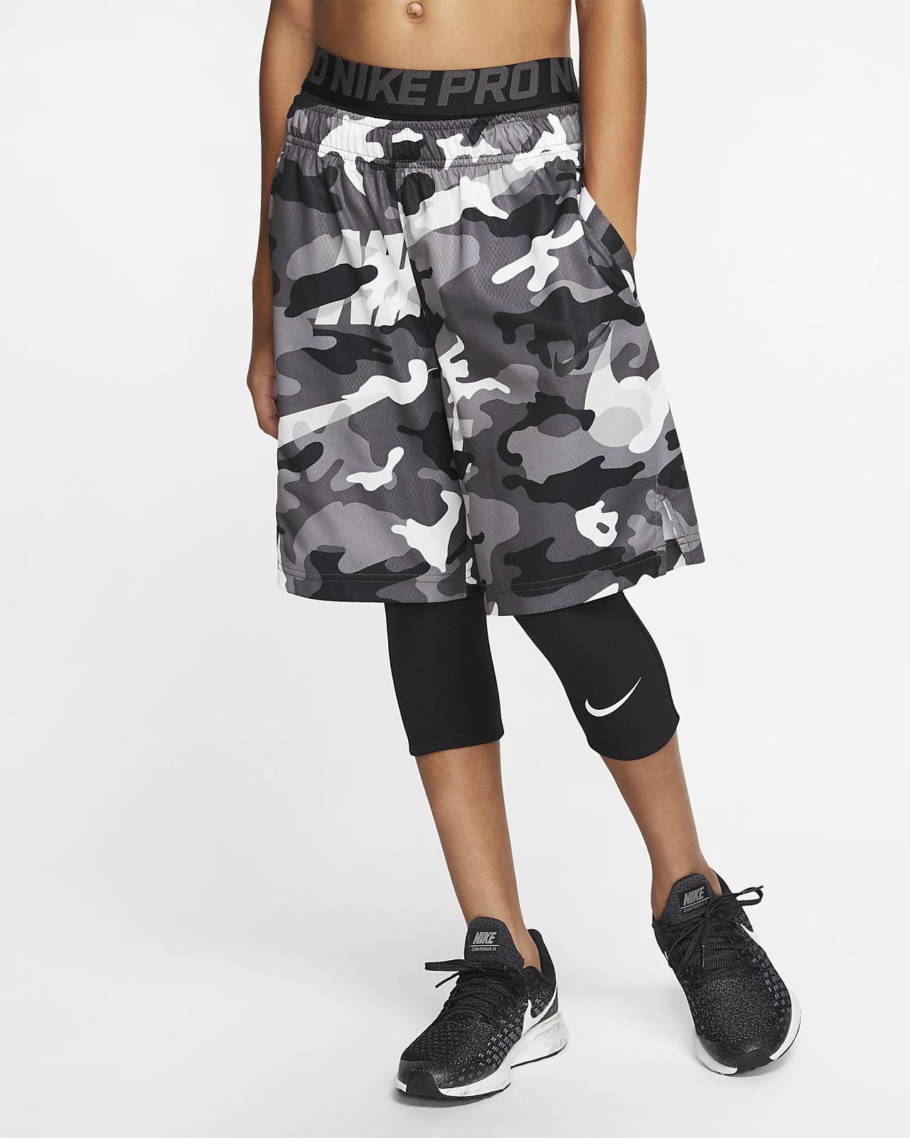 Nike Pro Big Kids' (Boys') 3/4-Length Tights