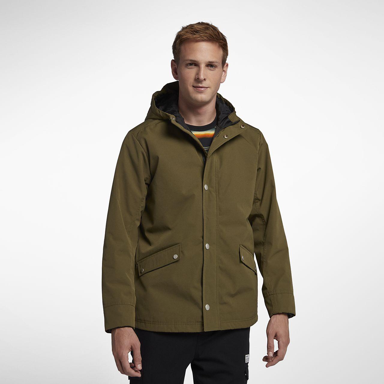 3075a568e56a Мужская куртка с капюшоном Hurley Timber. Nike.com RU