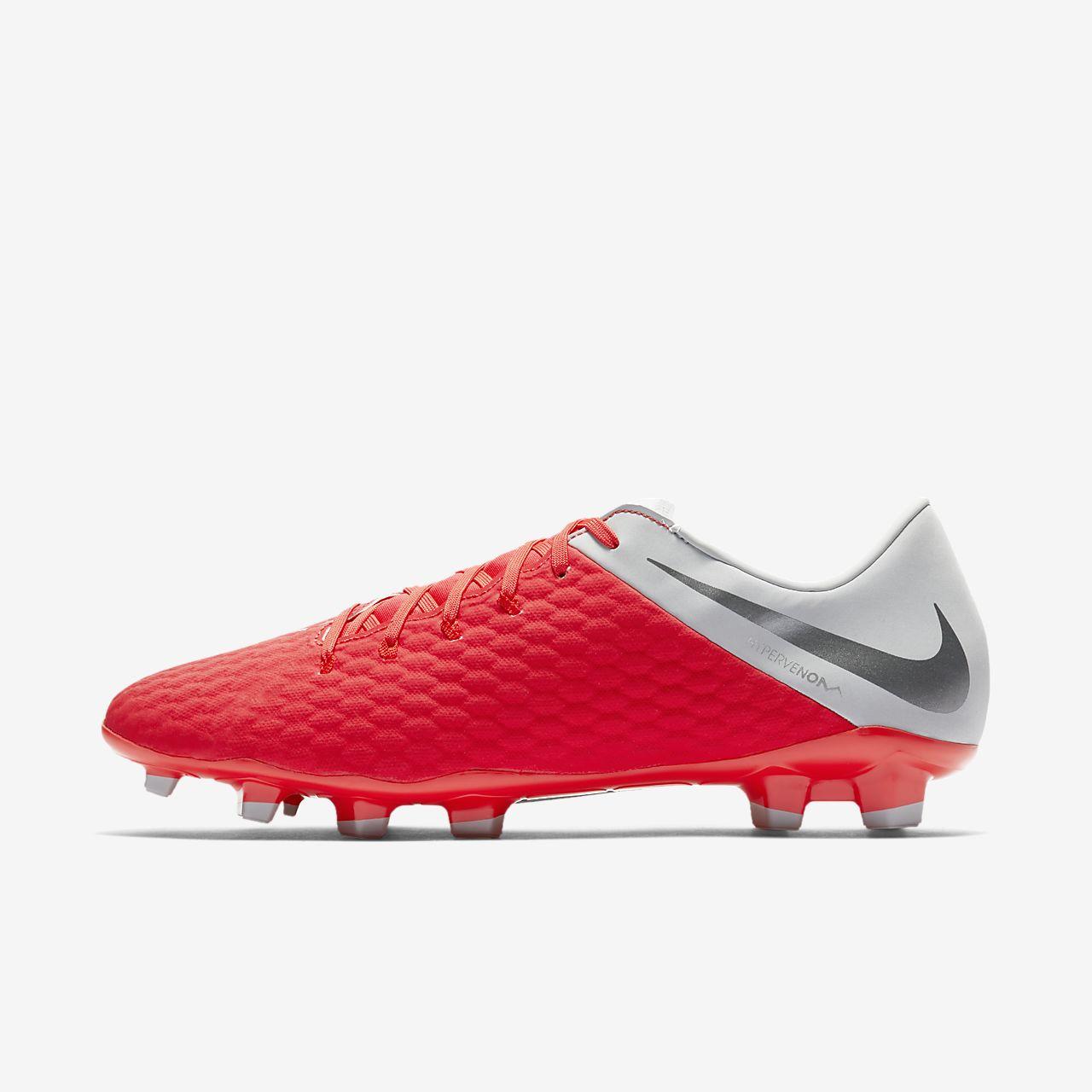 รองเท้าสตั๊ดฟุตบอลสำหรับพื้นสนามทั่วไป Nike Hypervenom III Academy FG