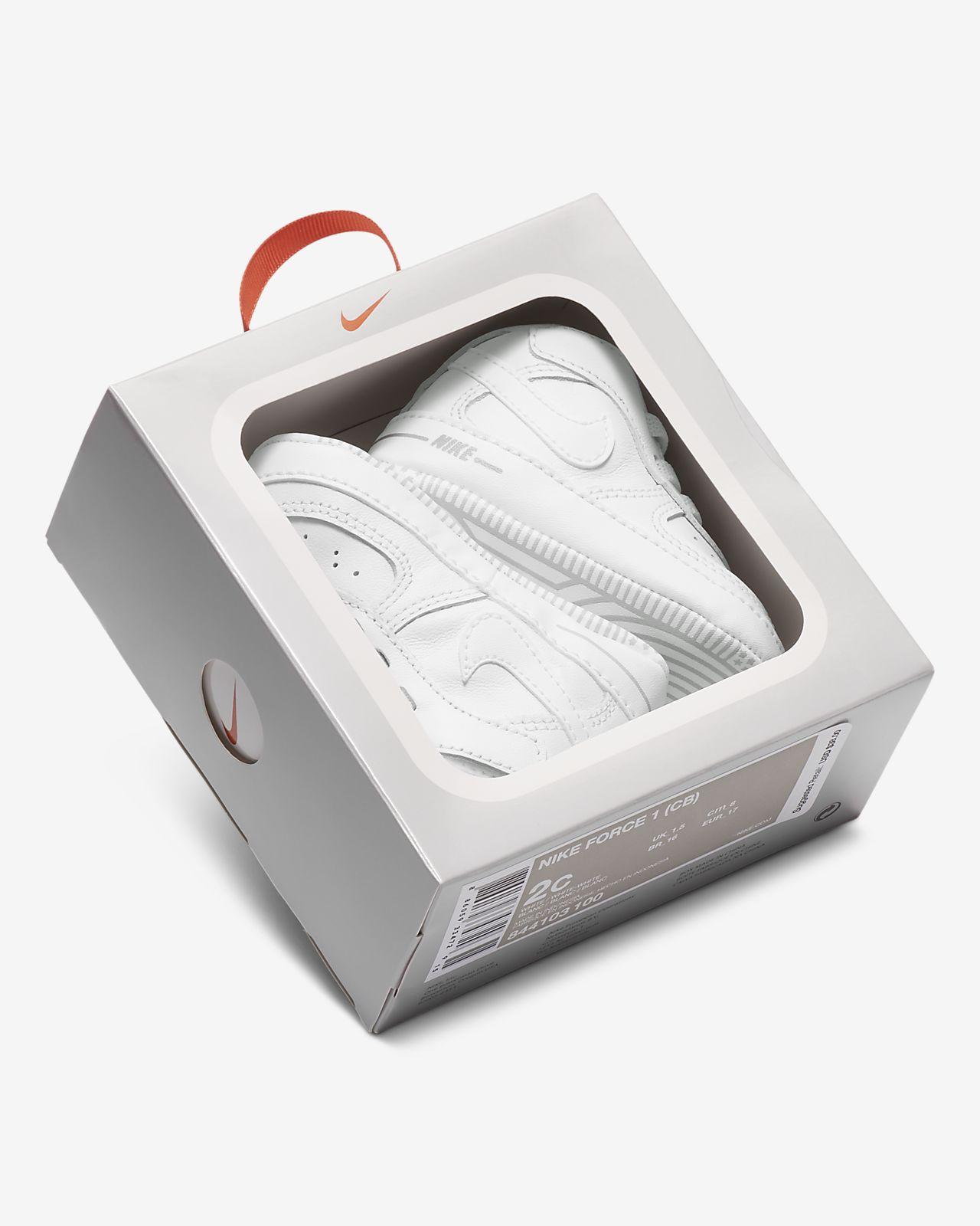 sélectionner pour l'original moderne et élégant à la mode dessins attrayants Chausson Nike Force 1 pour Bébé